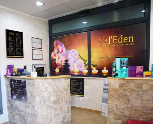 l'Eden Estetica e Benessere Reception