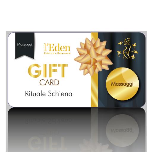 Eden Estetica e Benessere Gift Card Rituale Schiena